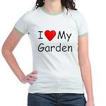 I (Heart) My Garden Jr. Ringer T-Shirt