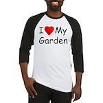 I (Heart) My Garden Baseball Jersey
