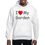 I (Heart) My Garden Hooded Sweatshirt