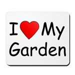 I (Heart) My Garden Mousepad