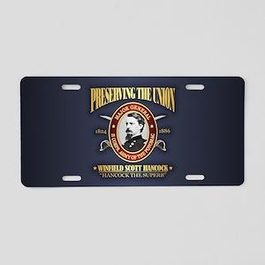 Hancock (PTU) Aluminum License Plate
