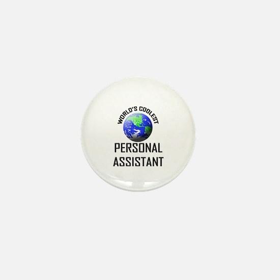 World's Coolest PERSONAL ASSISTANT Mini Button