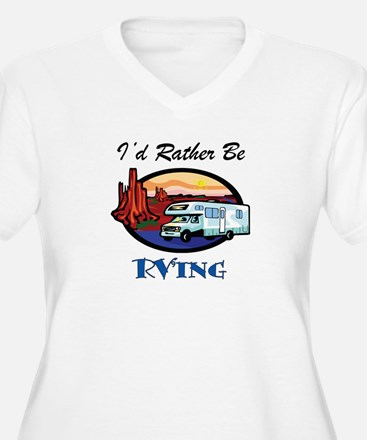 I'd Rather Be RV'ing T-Shirt