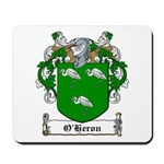 O'Heron Family Crest Mousepad