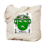 O'Heron Family Crest Tote Bag