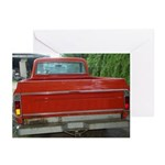 Ch######T Truck Tailgate Greeting Cards (Pk of 10)