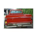 Ch######T Truck Tailgate Mini Poster Print