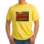 Ch######T Truck Tailgate Yellow T-Shirt