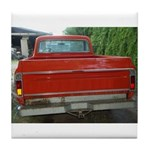 Ch######T Truck Tailgate Tile Coaster