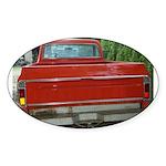 Ch######T Truck Tailgate Oval Sticker