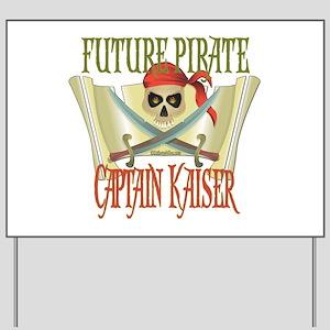 Captain Kaiser Yard Sign