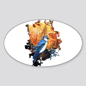 Blue Jay Life Sticker