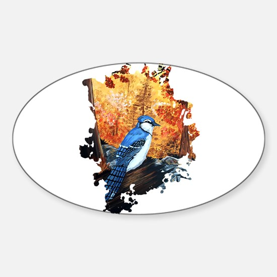 Blue Jay Life Decal