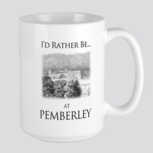 I'd Rather Be At Pemberley Mugs