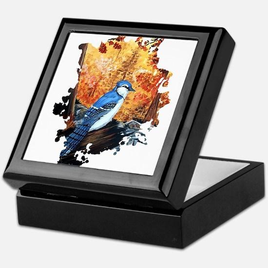 Blue Jay Life Keepsake Box