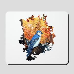 Blue Jay Life Mousepad
