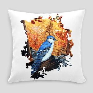 Blue Jay Life Everyday Pillow
