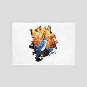Blue Jay Life 4' x 6' Rug