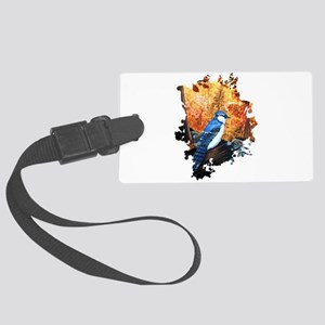 Blue Jay Life Large Luggage Tag