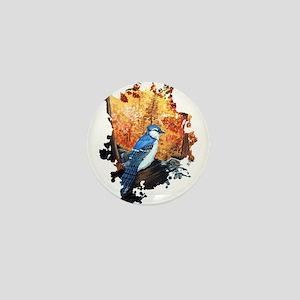 Blue Jay Life Mini Button