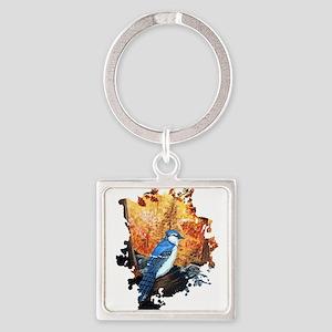 Blue Jay Life Keychains