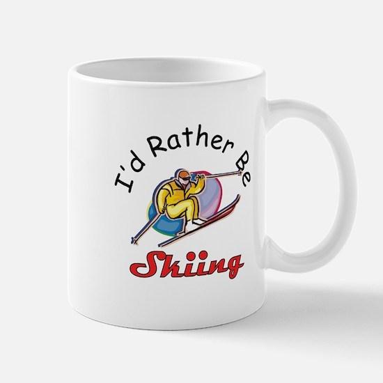 I'd Rather Be Skiing Mug