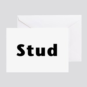 Stud - for fathers - Greeting Cards
