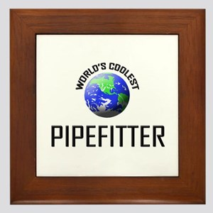 Kiss Me I'm a PIANO TUNER Framed Tile