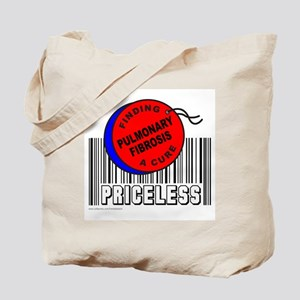 PULMONARY FIBROSIS FINDING A CURE Tote Bag