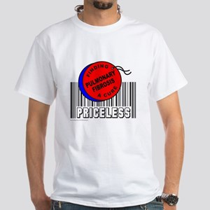 PULMONARY FIBROSIS FINDING A CURE White T-Shirt