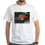 1971 C###y Truck Front & Rear White T-Shirt