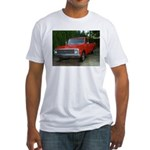 1971 C###y Truck Front & Rear Fitted T-Shirt