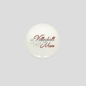 Volleyball Mom 3 Mini Button