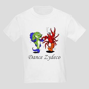 Dance Zydeco Kids Light T-Shirt