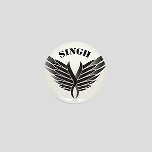 Singh Mini Button