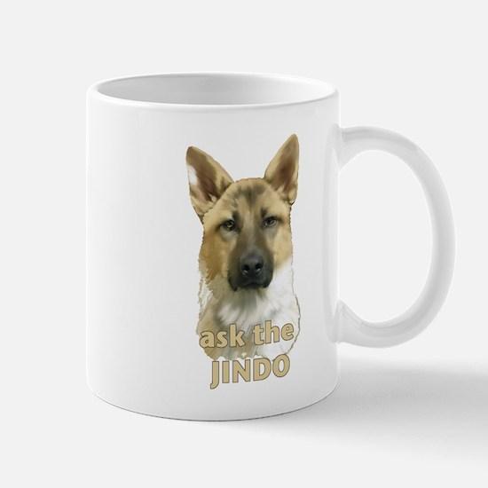 jindo ask Mug