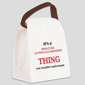 It's a Miniature Australian S Canvas Lunch Bag