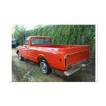 1971 C###y Truck Front & Rear Mini Poster Print