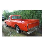 1971 C###y Truck Front & Rear Postcards (Package o