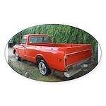 1971 C###y Truck Front & Rear Oval Sticker