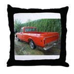 1971 C###y Truck Front & Rear Throw Pillow