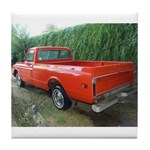 1971 C###y Truck Front & Rear Tile Coaster