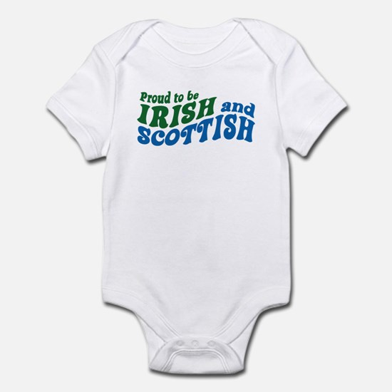 Proud to be Irish and Scottish Infant Bodysuit