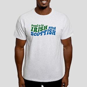 Proud to be Irish and Scottish Light T-Shirt