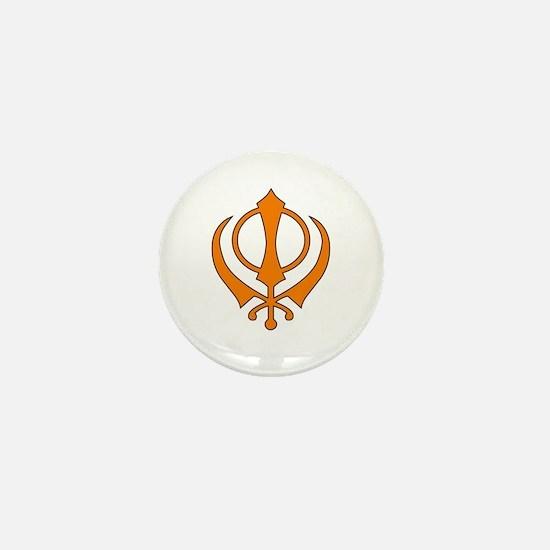 Khanda Mini Button