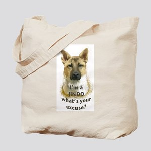 Jindo excuse Tote Bag