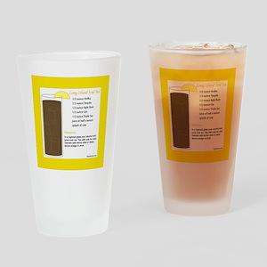 TileIcedTea Drinking Glass