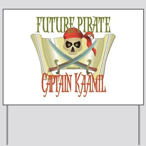 Captain Kaamil Yard Sign