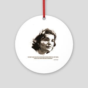 Jackie Kennedy Ornament (Round)