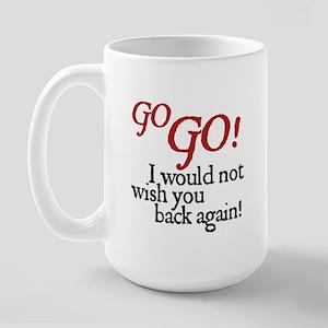 Jane Austen Go GO Large Mug